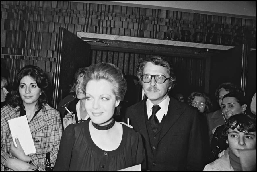 L'actrice avec Harry Meyen à Paris