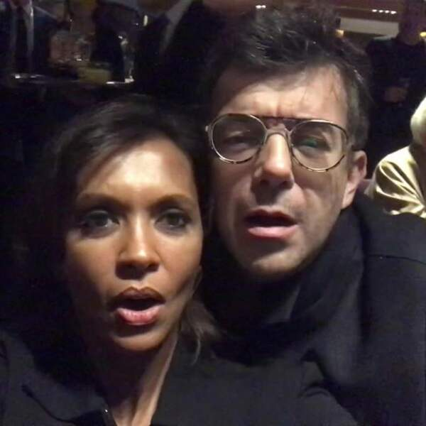 Karine Le Marchand et Stéphane Plaza célèbrent ensemble la nouvelle année sur les réseaux sociaux