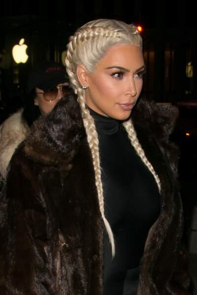 Kim Kardashian dans sa période péroxydée