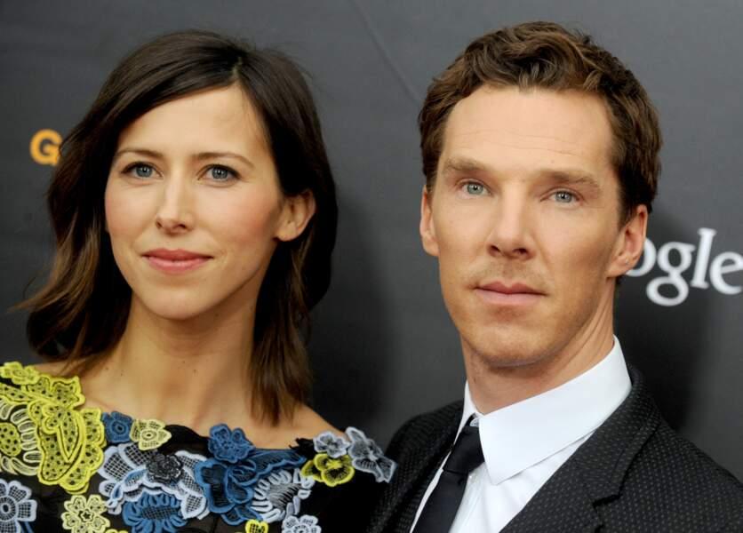 Benedict Cumberbatch a choisi la St Valentin pour épouser Sophie Hunter