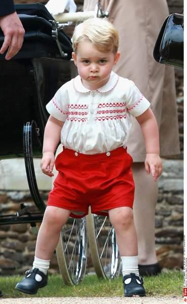 Le 21 juillet marquait le deuxième anniversaire sur petit prince George