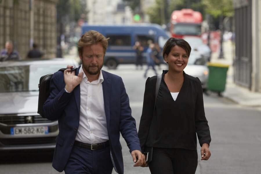 Najat Vallaud-Belkacem très complice avec son époux
