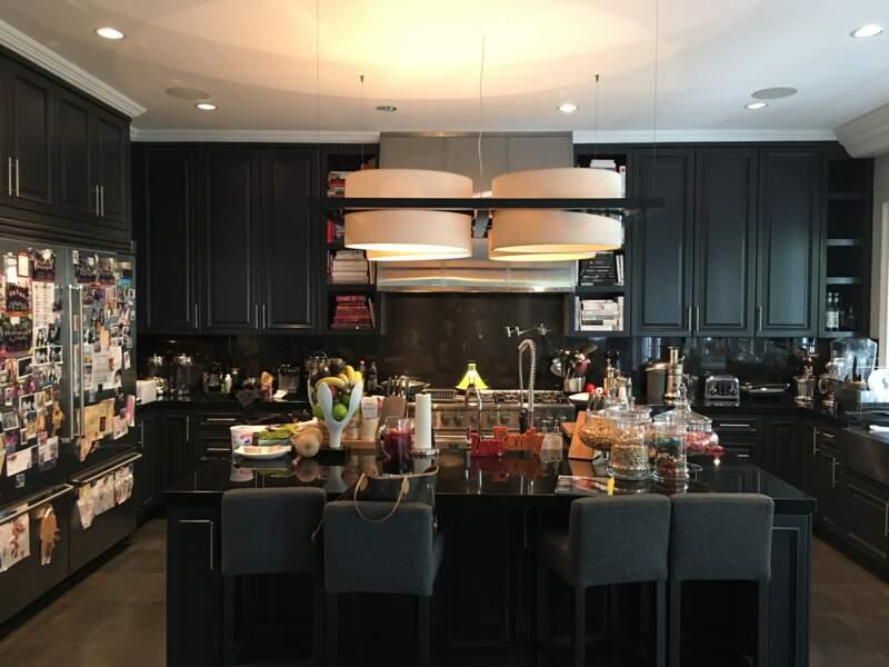 La cuisine de Laeticia et Johnny Hallyday à Los Angeles