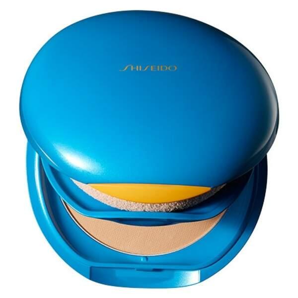 Shiseido, Sun Care fond de teint compact protecteur UV, 37,901 € Nocibé