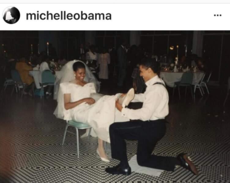 Michelle et Barack Obama