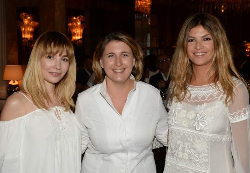 Alix Bénézech, Stephanie Le Quellec et Isabelle Funaro