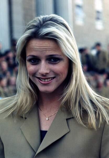 En 2006, longueurs blondes et mise en beauté naturelle pour Charlène de Monaco