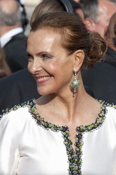 A 59 ans, l'actrice est resplendissante.