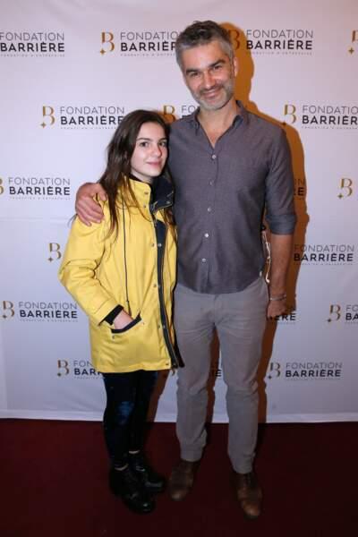 Francois Vincentelli et sa fille Alice