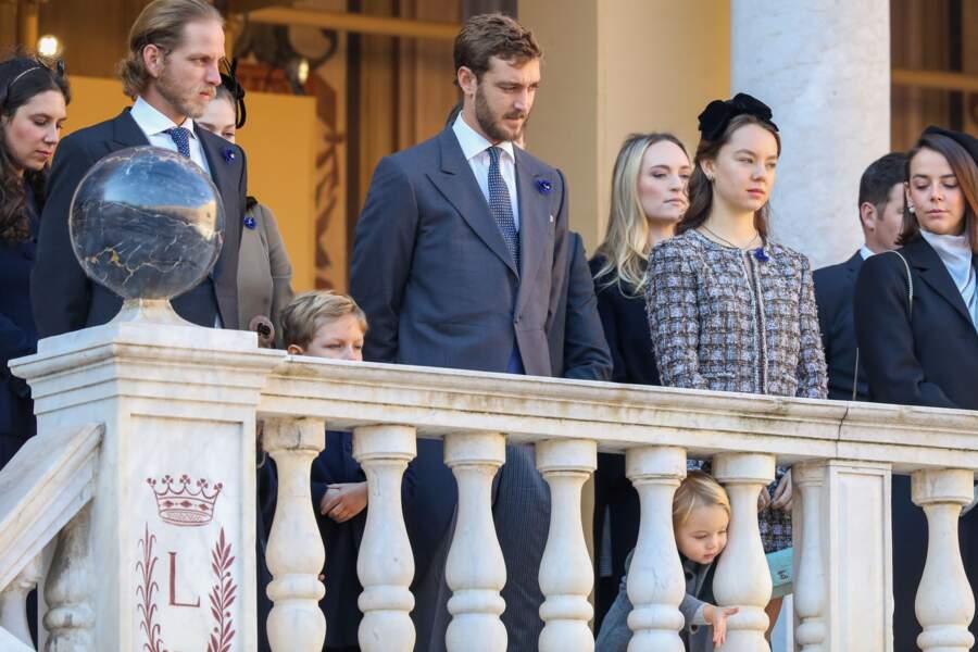 Pauline Ducruet très élégante avec toute la famille princière de Monaco