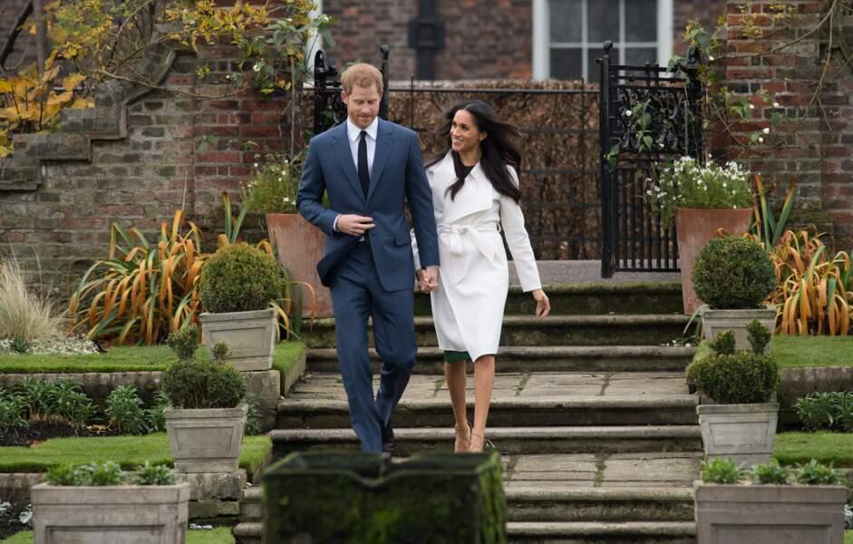 Le couple habitait alors le modeste Notthingham Cottage, dans l'enceinte du palais