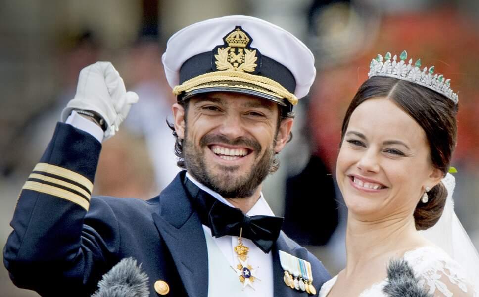 Le prince Carl Philip de Suède a épousé Sofia Hellqvist le 13 juin