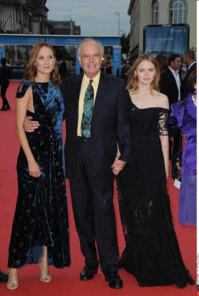 Ana Girardot, Frederic Mitterrand et Sara Forestier