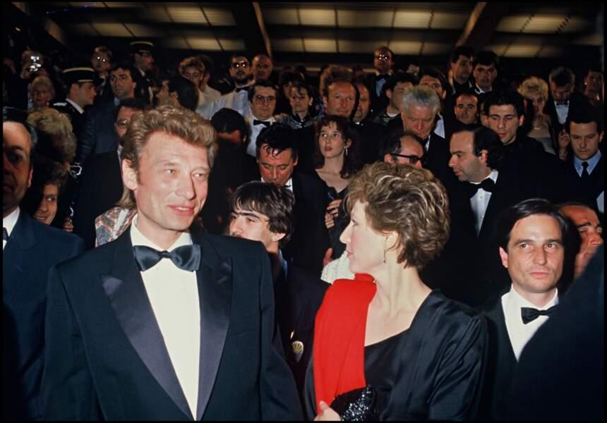 Johnny Hallyday et Nathalie Baye se sont séparés en 1986