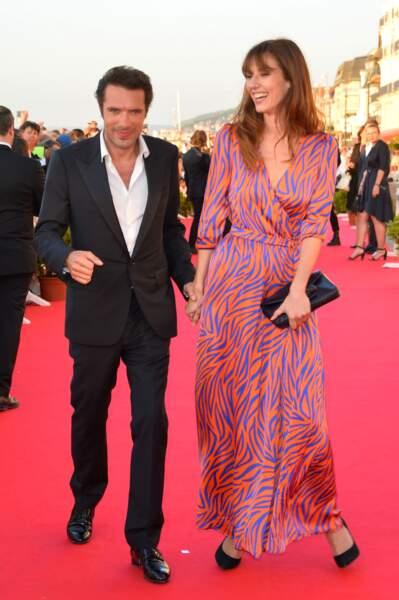 Un tapis rouge très glamour pour les deux acteurs du premier film de Nicolas Bedos