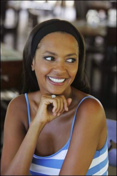 """En 2006, Karine le Marchand et son équipe des """"Maternelles"""" en tournage en Guadeloupe et en Martinique"""