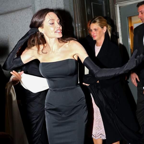 Angelina Jolie était l'invitée d'honneur de cette soirée des UNCA Awards à New York