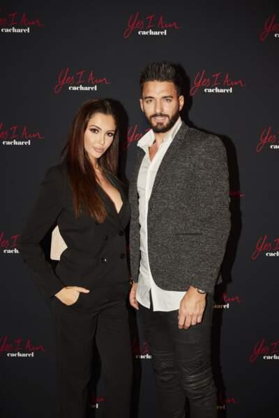 Nabilla Benattia et son fiancé Thomas Vergara