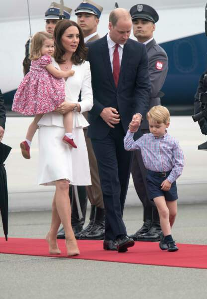 ...comme la photo de sa famille réunie.