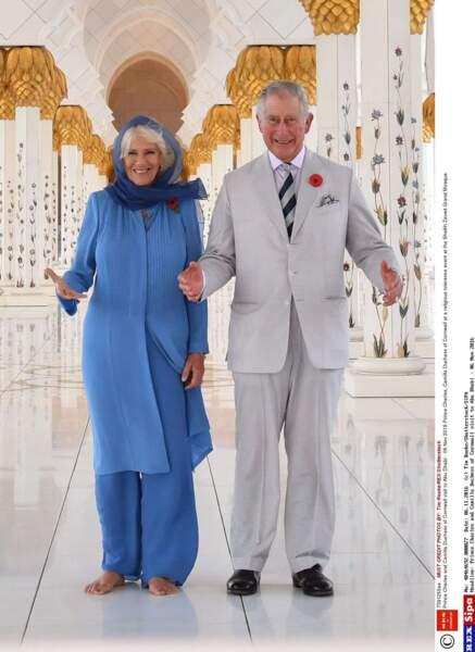 Charles et Camilla en voyage officiel à Oma Novembre 2016
