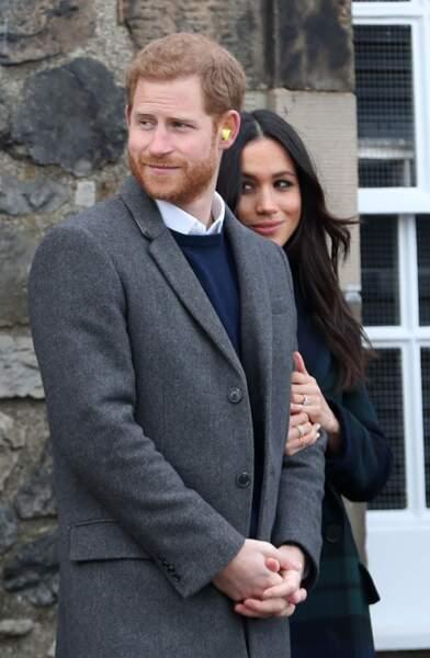 Meghan Markle protégé par son prince Harry