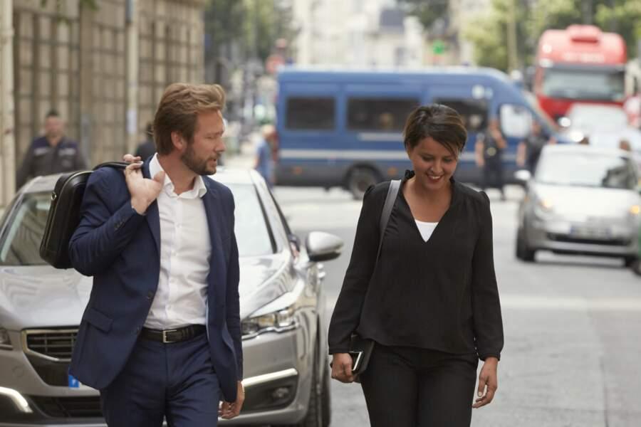Boris Vallaud et NVB arrivent au PS