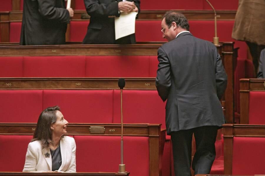 A L'Assemblée nationale, en Octobre 2005