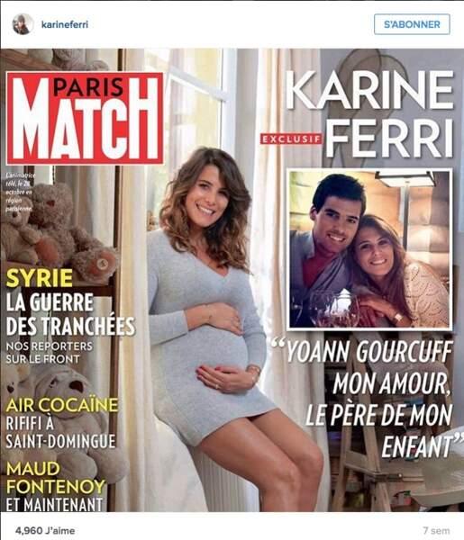 Karine Ferri et Yoann Gourcuff