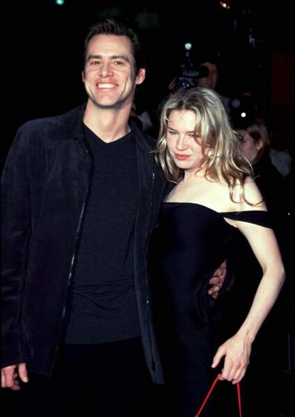 René Zellweger et Jim Carrey à Los Angeles en 1999