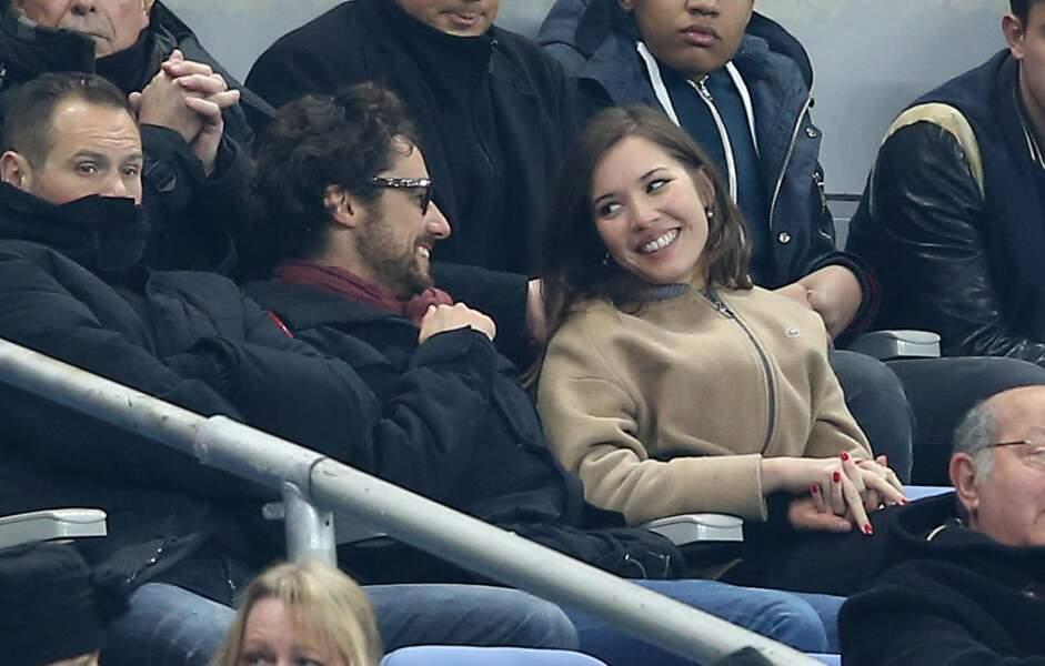 Thomas Hollande et la journaliste sportive Emilie Broussouloux : chouette elle aime le sport