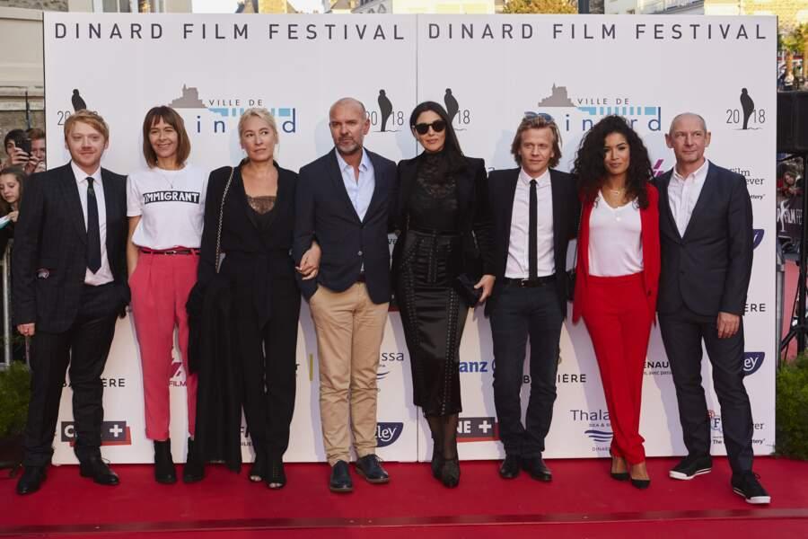 Le jury du festival du film de Dinard très chic et glamour