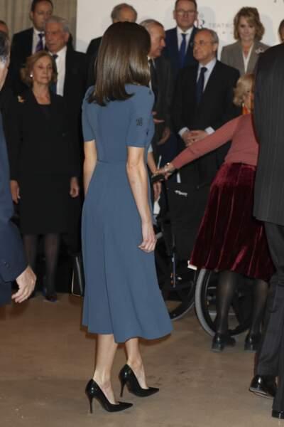 La tenue de la reine Letizia d'Espagne a été remarquée