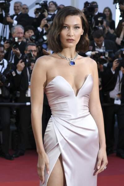 Bella Hadid lors du 70ème Festival International du Film de Cannes