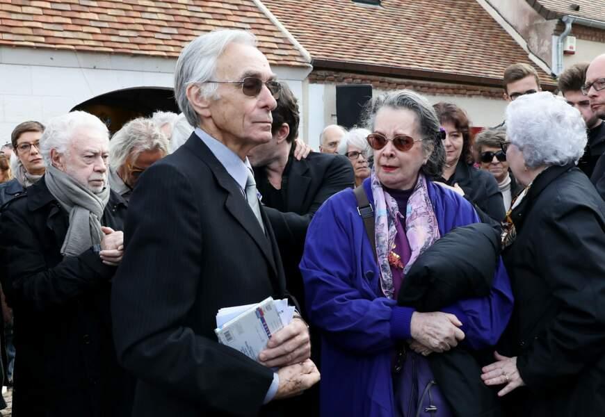 Dominique Lavanant au côté du compagnon de Danielle Darrieux, Jacques Jenvrin