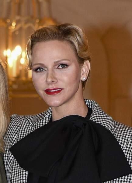 Charlène de Monaco et son teint diaphane