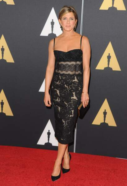Jennifer Aniston, chic en Zuhair Murad