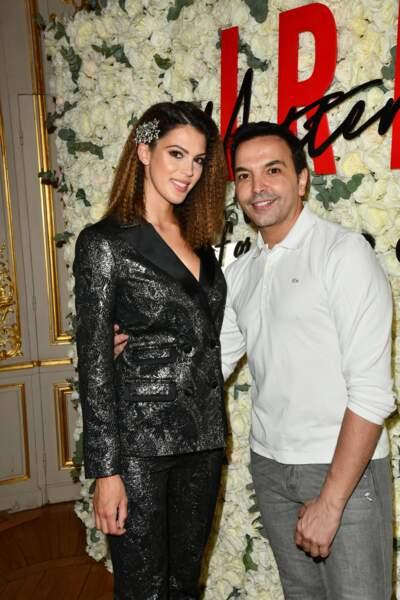 Iris Mittenaere et son idole Kamel Ouali avec qui elle travaille désormais au Paradis Latin