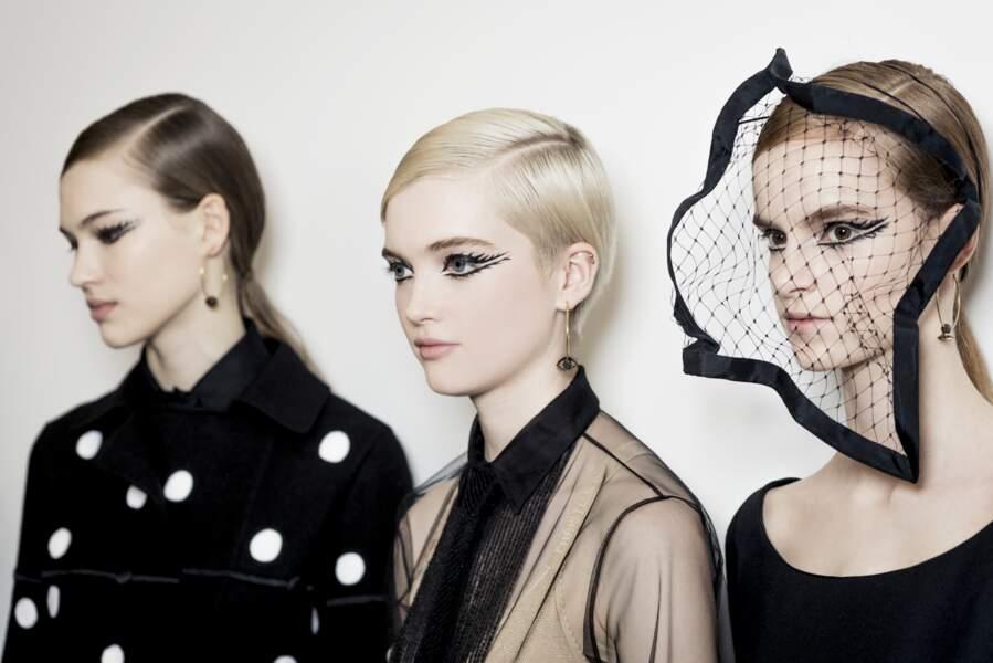 Le surréalisme, le thème de ce défilé Dior placée sous le signe d'une féminité absolue