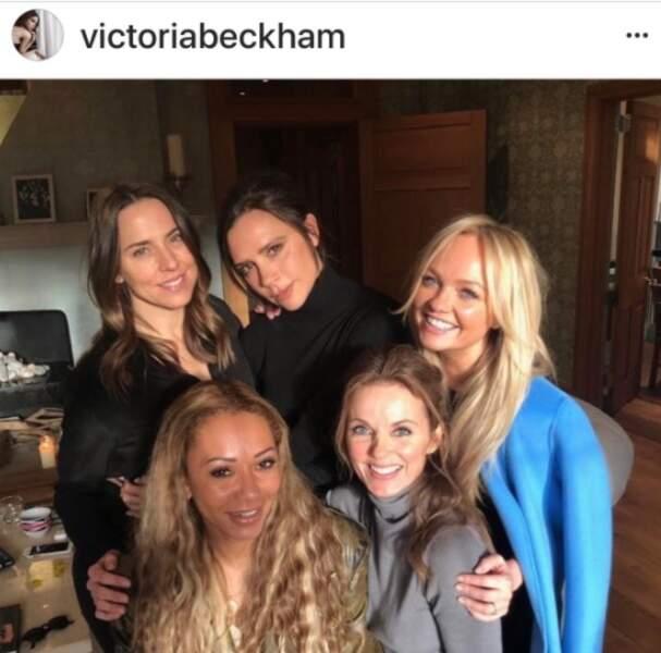 Les Spice Girls se retrouvent
