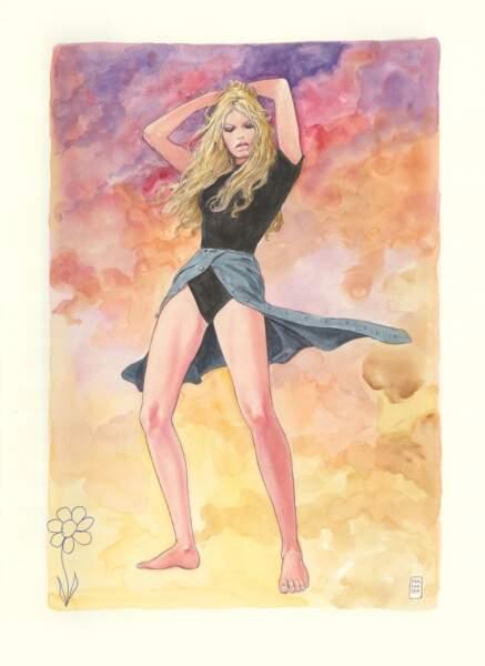 Brigitte Bardot par Manara