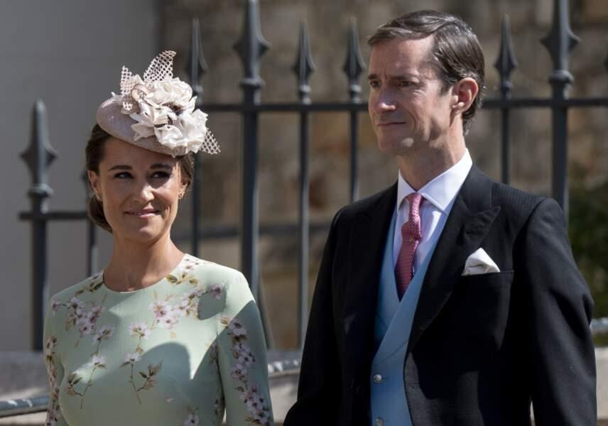 Pippa Middleton au bras de son mari