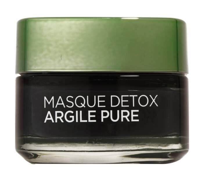 Masque Détox, L'Oréal Paris - 8,90€