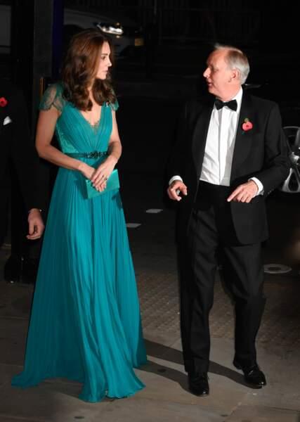 Kate Middleton sublime dans sa robe Jenny Packham, déjà portée en 2012