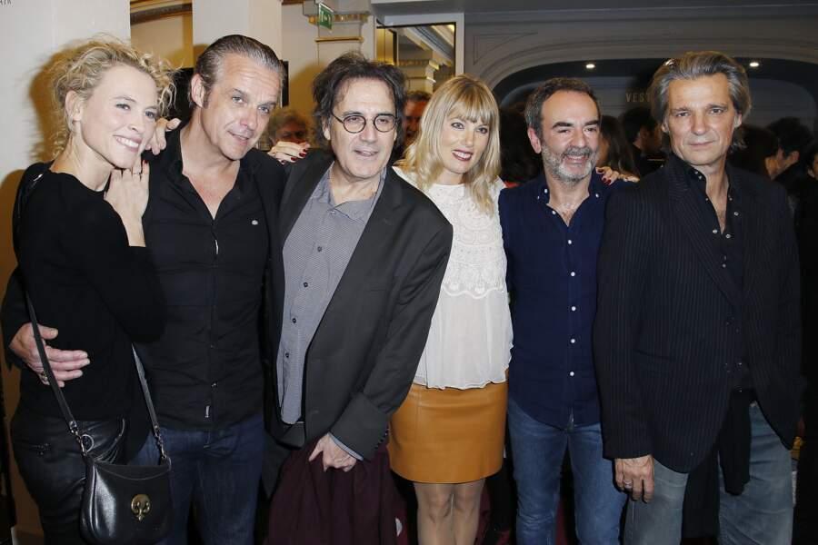 Mathilde Penin, David Brecourt, Eric Assous, Melanie Page, Bruno Solo, Yvan Le Bolloc'h