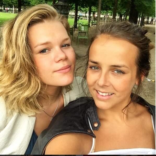 Camille Gottlieb et Pauline Ducruet, deux soeurs fusionnelles
