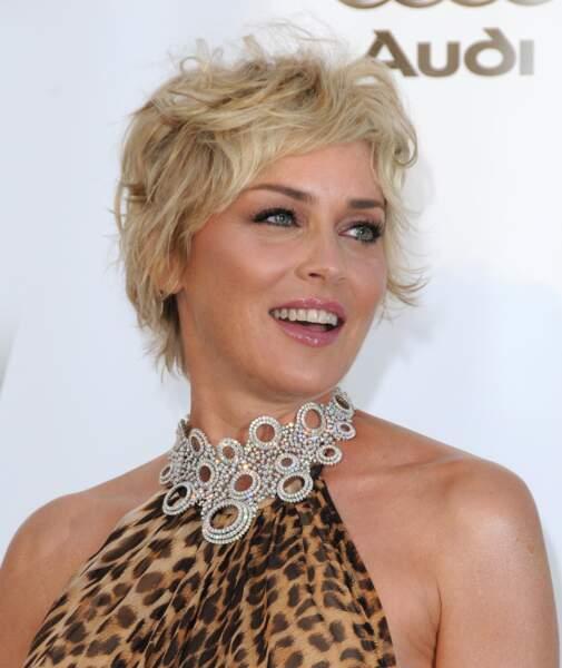 Sharon Stone en 2008