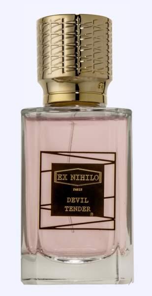 Eau de Parfum Devil Tender, Ex Nihilo, 180 €, ex-nihilo-paris.com