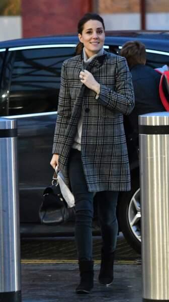 Kate Middleton le vendredi 1er décembre à la gare de St Pancras à Londres