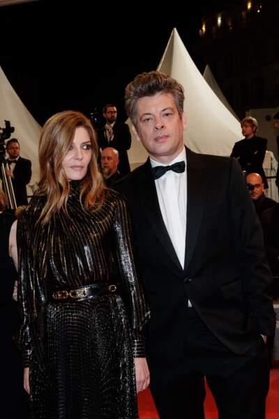 Les ex-amoureux Chiara Mastroianni et Benjamin Biolay, à Cannes, le 19 mai 2019.