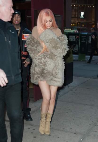 Kylie Jenner et Tyga dans les rues de New-York